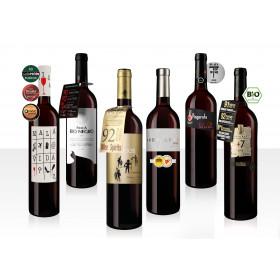 Beliebteste Spanier als 6er Weinpaket sortiert
