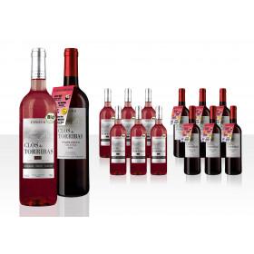 Clos de Torribas 12er Weinpaket sortiert