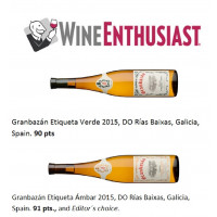 Etiqueta Verde 2015 90 Punkte WineEnthusiast 2016