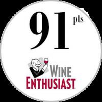 91 Punkte Wine Enthusiast 2020