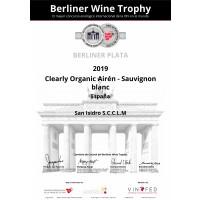 Urkunde Berliner Wein Trophy Silber 2020