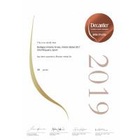 Bronzemedaille Decanter 2019 Vividor 2017
