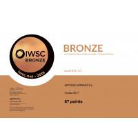 Bronzemedaille IWSC 2019 Vividor 2017