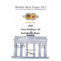 Berliner Wein Trophy Gold 2013