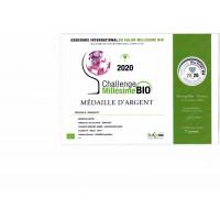 Urkunde Challange Millésime Bio Silber 2020