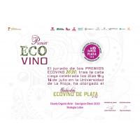 Urkunde Eco Vino Silber 2020