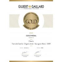 Urkunde Gilbert & Gaillard Gold 2020