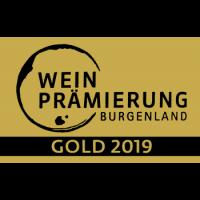 Gold burgenländische Weinprämierung 2019