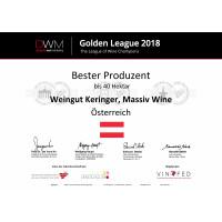 Golden League 2018_Bester Produzent Berliner Wein Trophy bis 40ha