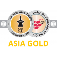 Goldmedaille Asia Wine Trophy 2019
