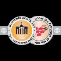 Goldmedaille Berliner Wein Trophy 2018