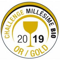 Goldmedaille Challenge Millesime Bio 2018 Frankreich