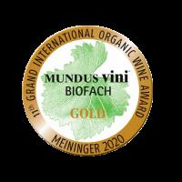 Goldmedaille Mudus Vini Biofach 2020