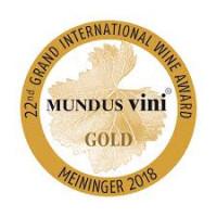 Goldmedaille Mundus Vini 2018