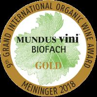 Goldmedaille Mundus Vini Biofach 2018