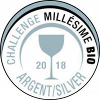 Silbermedaille Challenge Millesime Bio 2018 Frankreich