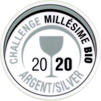 Silbermedaille Challenge Millesime Bio 2020