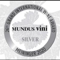 Silbermedaille Mundus Vini 2020