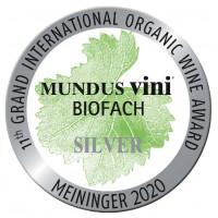 Silbermedaille Mundus Vini Biofach 2020