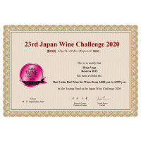 Urkunde Best Value JWC 2020
