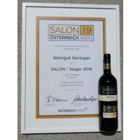 Urkunde Salon Sieger 2019 100 days Zweigelt 2017